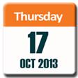 17 October 2013